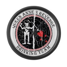 Queen Anne's Revenge Large Wall Clock