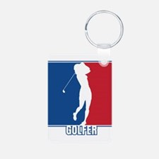 Major League Womens Golf Keychains