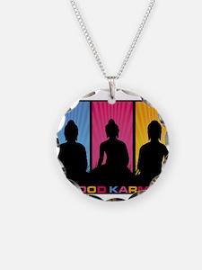 Good Karma Buddhas Necklace