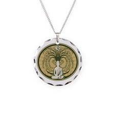 Buddha and the Bodhi Tree Necklace