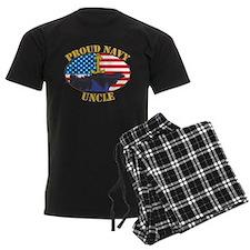 Proud Navy Uncle Pajamas