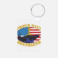 Proud Navy Boyfriend Keychains