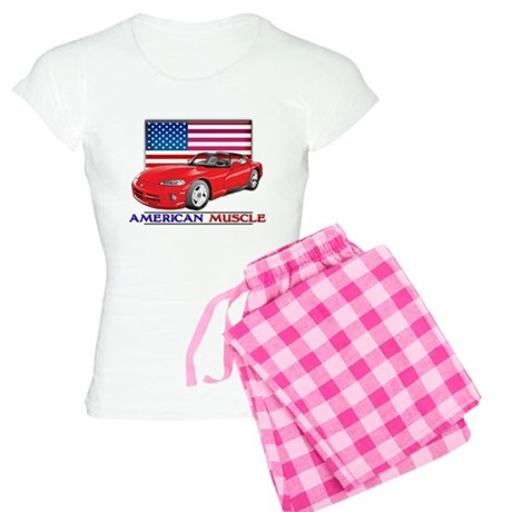 American Muscle Viper Women's Light Pajamas