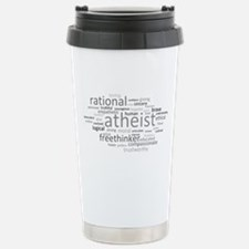 Atheism Cloud Stainless Steel Travel Mug