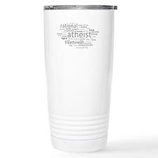 Atheism Cloud Travel Mug
