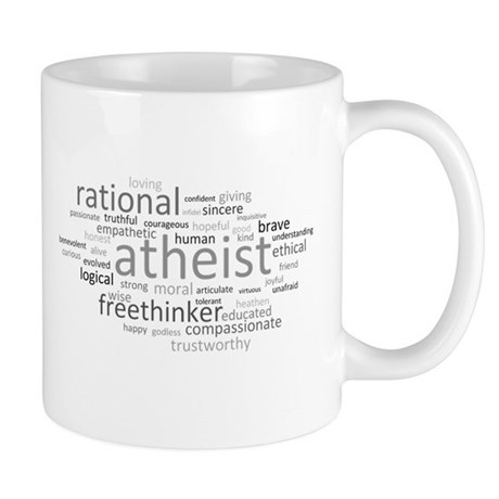 Atheism Cloud Mug