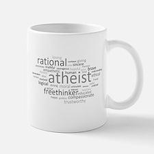 Atheism Cloud Small Small Mug