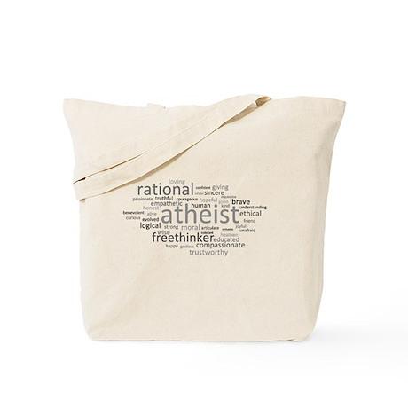 Atheism Cloud Tote Bag