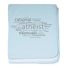 Atheism Cloud baby blanket
