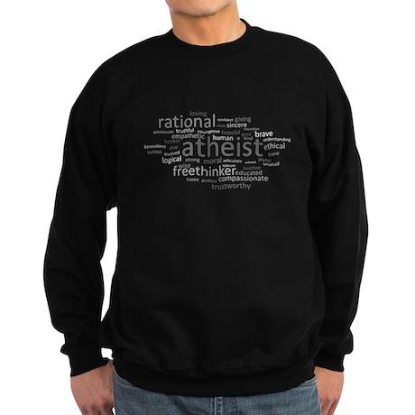 Atheism Cloud Sweatshirt (dark)