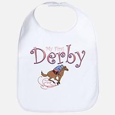 My First Derby (girl) Bib