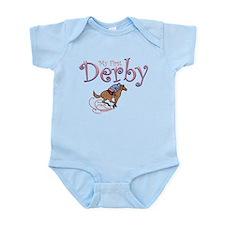 My First Derby (girl) Infant Bodysuit