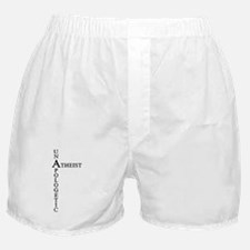 Unapologetic Atheist Boxer Shorts