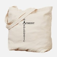 Unapologetic Atheist Tote Bag