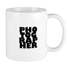 photographer (black) Mug