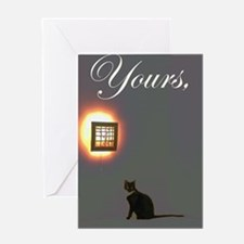 Yours Greeting Card
