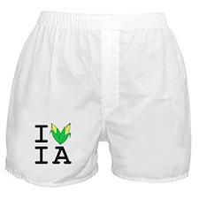 Cute Iowa corn Boxer Shorts