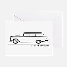 1955 Chevrolet Stationwagon Greeting Card