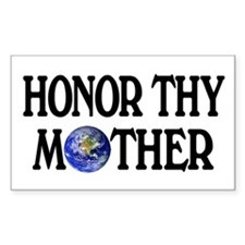 Honor Thy Mother Rectangle Decal
