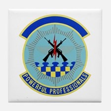52d Security Police Tile Coaster