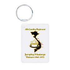 8th Cavalry Regiment Keychains