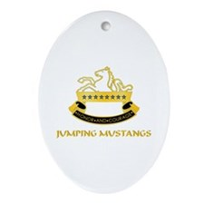 8th Cavalry Regiment Oval Ornament
