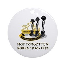 8th Cavalry Regiment Ornament (Round)