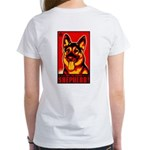 Obey the German Shepherd! Women's T-Shirt