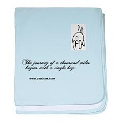 Bun 1 Journey baby blanket