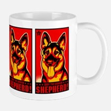 Obey the German Shepherd! Propaganda Mug