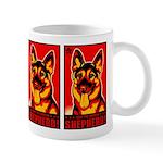 Obey the German Shepherd! Propaganda Mug