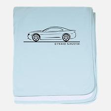 New Camaro baby blanket