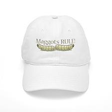 Maggots Rule Baseball Cap