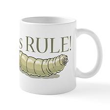 Maggots Rule Small Mug