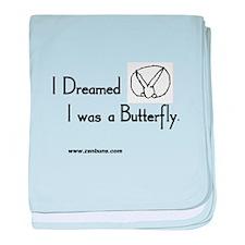 Bun 23 Butterfly baby blanket