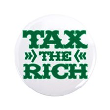 "TAX THE RICH 3.5"" Button"