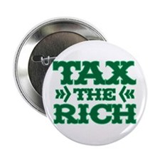 """TAX THE RICH 2.25"""" Button (10 pack)"""