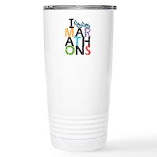 I Run Marathons Travel Mug