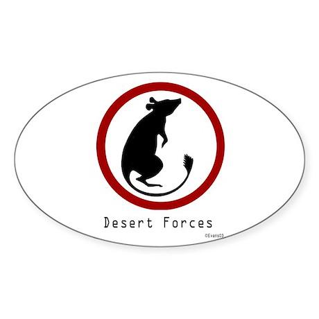 Desert Rat Sticker