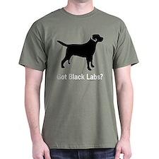 Got Black Labs II Black T-Shirt