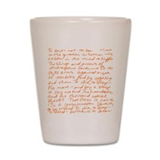 Hamlet - to be or not to be O Shot Glass