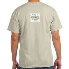 Gag a Maggot Ash Grey T-Shirt