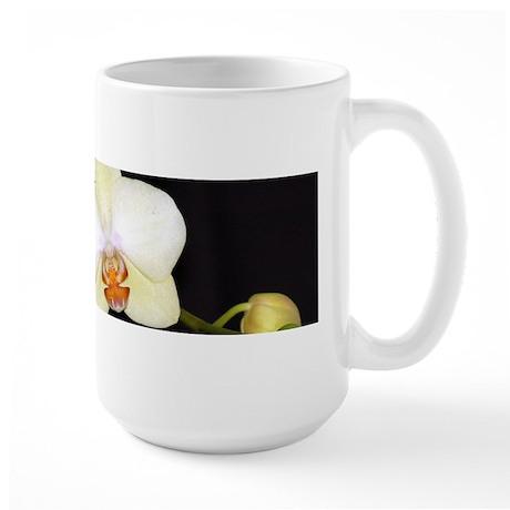 Large Mug - White Phaleanopsis