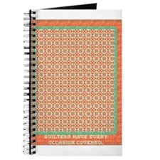 Country Christmas Quilter Cov Journal