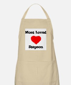 Most Loved Stepson BBQ Apron