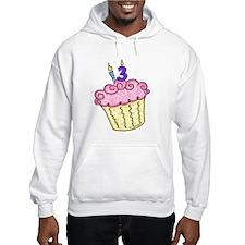 13th Birthday Cupcake Hoodie