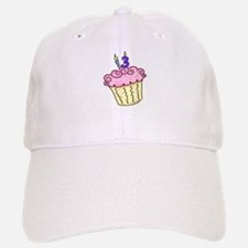 13th Birthday Cupcake Baseball Baseball Cap