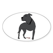 Tripawds Front Leg Pit Bull Decal
