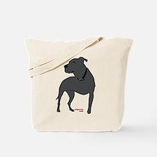 Tripawds Front Leg Pit Bull Tote Bag