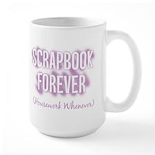 Scrapbook Forever - Purple Mug
